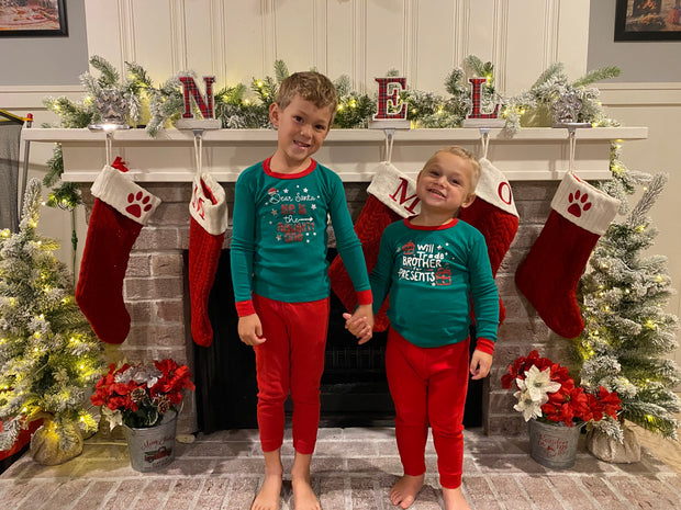 Funny Children Christmas Jammies
