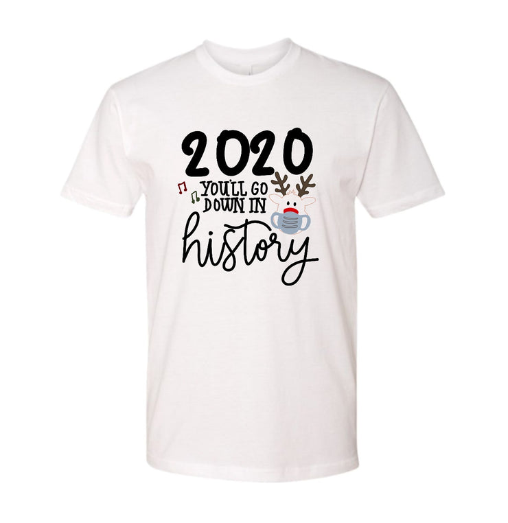 This Year Will Go Down in History Kids Graphic Tee - RARE.