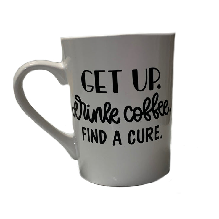 Find a Cure Coffee Mug - RARE.