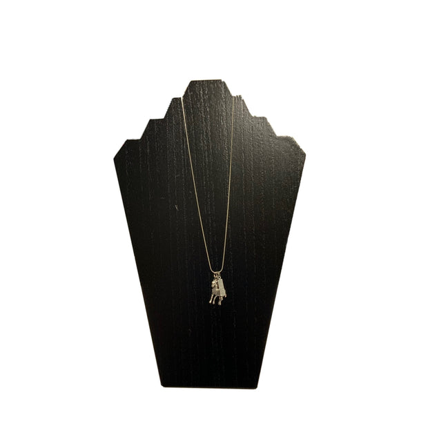 Zebra Herd Chain Necklace - RARE.