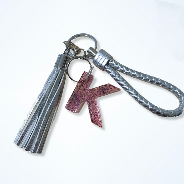 Resin Letter Name Keychain - RARE.