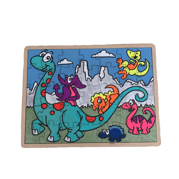 Handcrafted RARE. Wooden Puzzles - RARE.