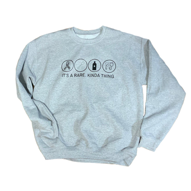 It's A RARE. Kinda Thing Crewneck Sweatshirt - RARE.