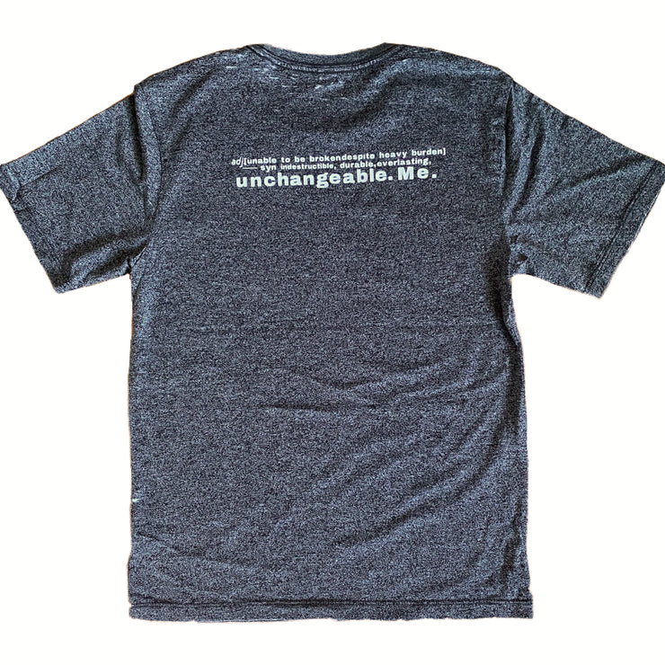 """Un-Break-Able"" Definition Tee - RARE."