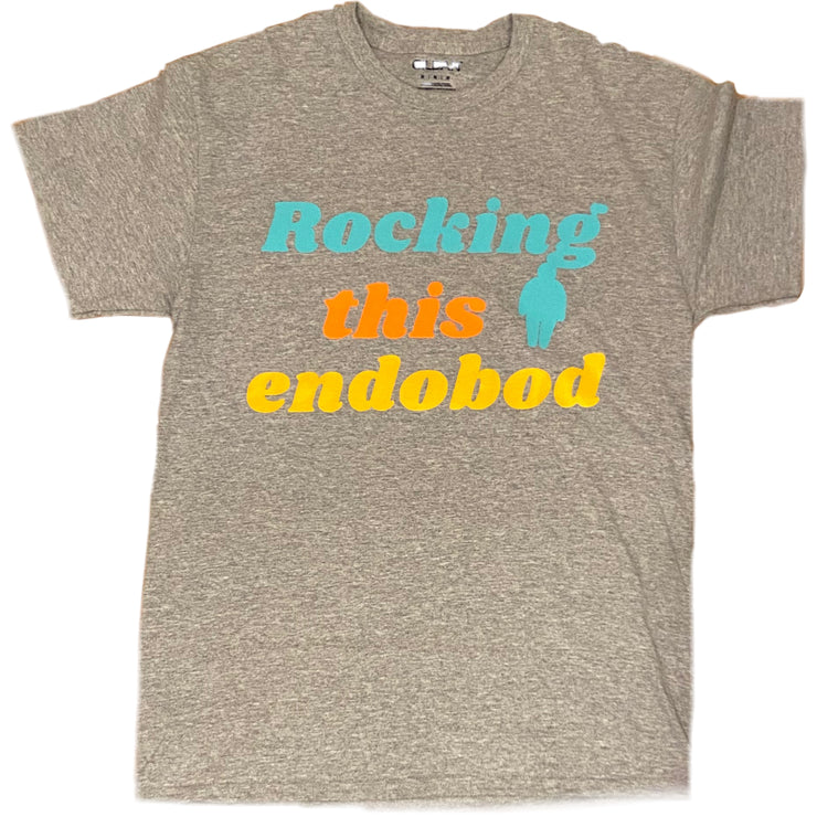 """Rockin' this Endobod"" Relaxed Unisex Tee - RARE."