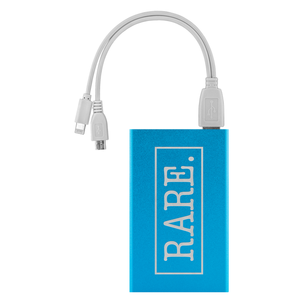 Rare.ly Is My Phone Charged Portable Charger