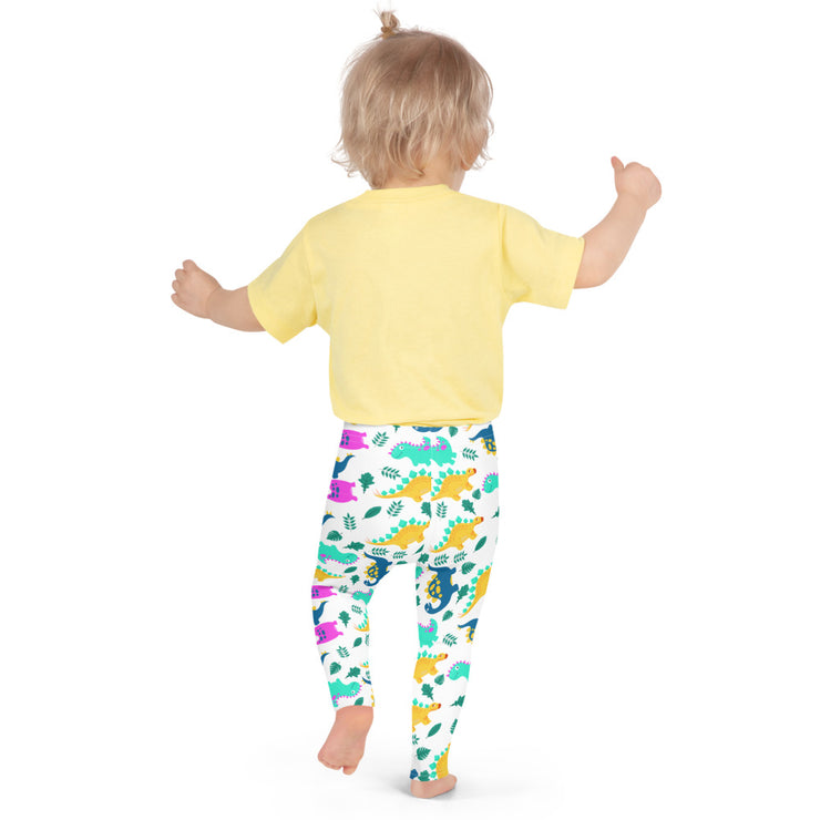 Dino All Over Kid's Leggings - RARE.