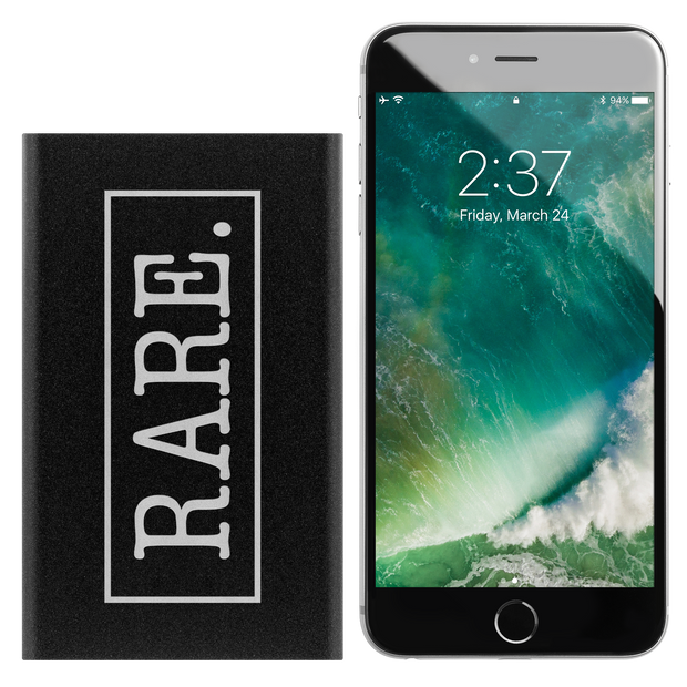 Rare.ly Is My Phone Charged Portable Charger - RARE.