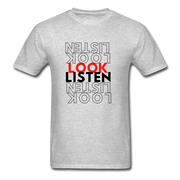 Exclusive Look Listen Unisex Classic T-Shirt - RARE.