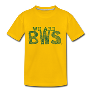 WE ARE Limited Edition BWS Awareness Day Toddler T-Shirt - sun yellow