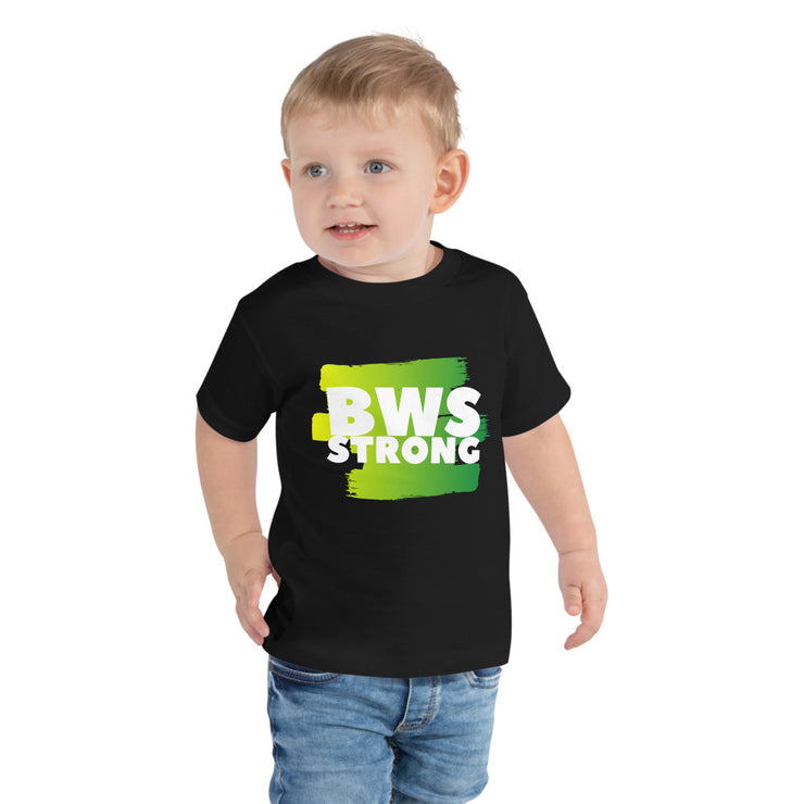 BWS Strong Toddler Short Sleeve Tee - RARE.