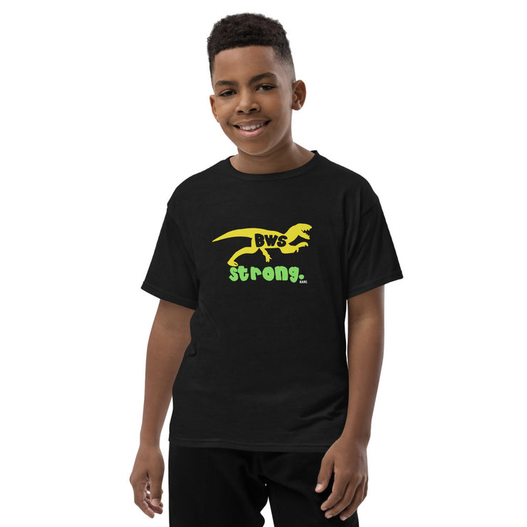 BWS Strong Youth Short Sleeve T-Shirt - RARE.
