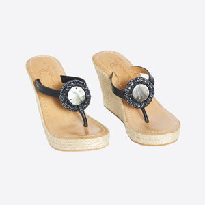Rayas Shell Wedge