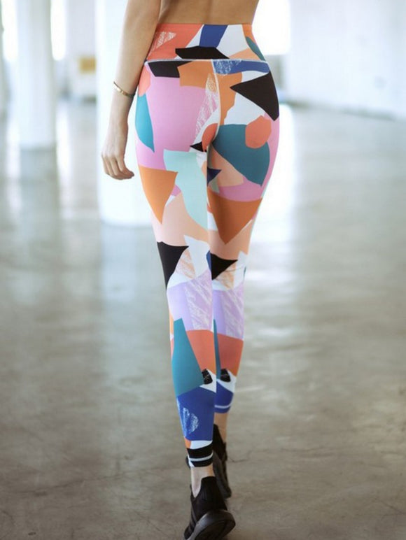 Art Print Athletic Leggings