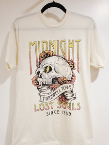 Midnight Skull Graphic Tee
