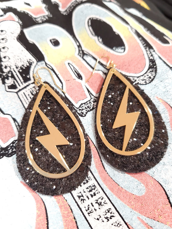 Electric Lightning Earrings
