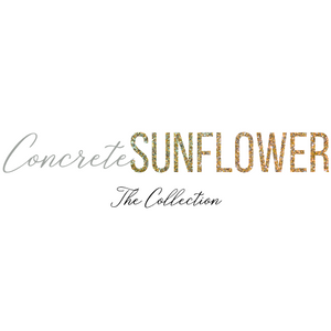 Concrete Sunflower Collection
