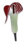 Jack In The Pulpit Flower Enamel Pin