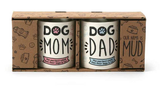 DOG MOM & DOG DAD MUG SET