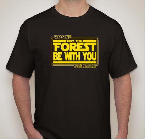 Short Sleeve May The Forest Be WIth You Shirt