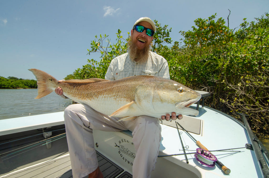 The Troutman meets The Redfish   By: Dobbin Buck