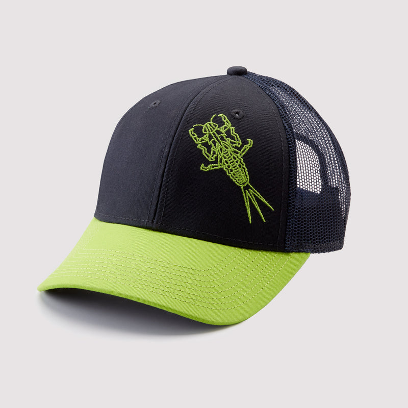 Baetis Mayfly Nymph Hat - Snapback Trucker