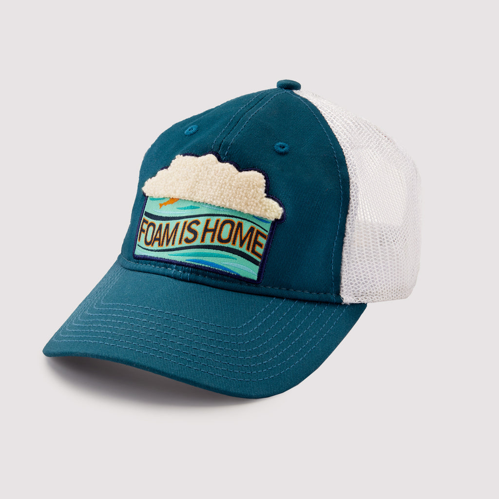 Foam Is Home Hat - Snapback Soft Mesh