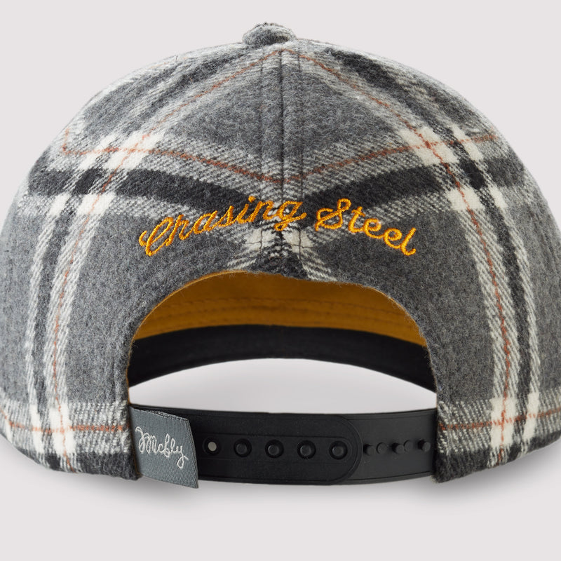 Great Lakes Rivers Steelhead - Plaid Snapback Hat