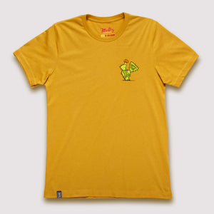 Southwestern US Rivers - T-Shirt / Mustard