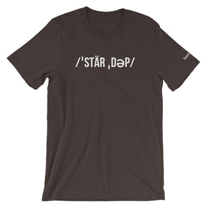 Pronunciation Startup - Short-Sleeve Men's T-Shirt