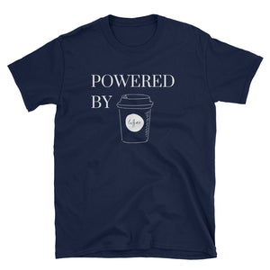 Powered By Coffee Men's T-Shirt