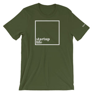 Startup Life [Box] - Short-Sleeve Men's T-Shirt