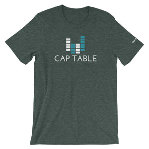 Cap Table - Short-Sleeve Men's T-Shirt