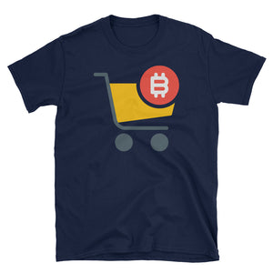 Bitcoin Shopping Men's T-Shirt