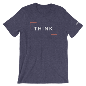 Think - Short-Sleeve Men's T-Shirt