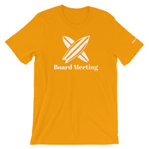 Board Meeting - Short Sleeve Men's T-Shirt