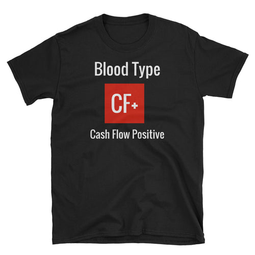 Blood Type CF+ - Short-Sleeve Men's T-Shirt