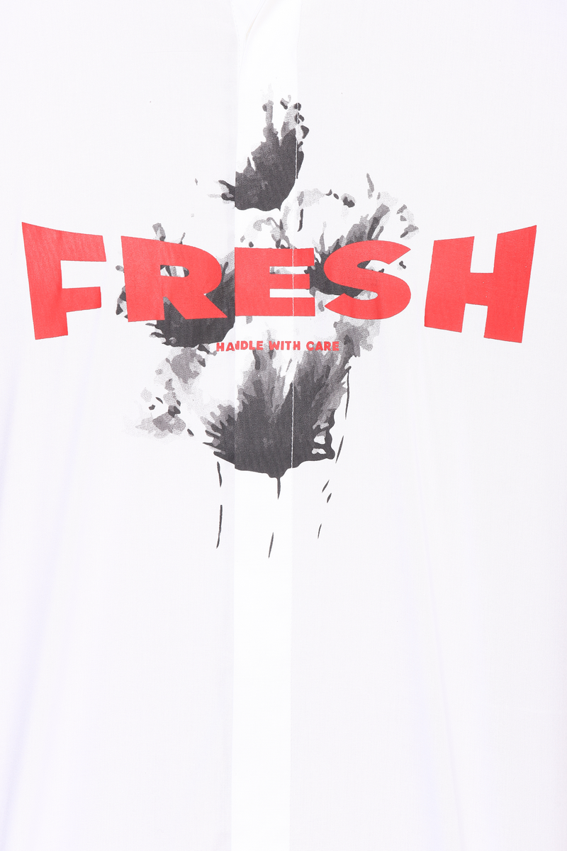 The Printed Cinematic Fresh Shirt in White