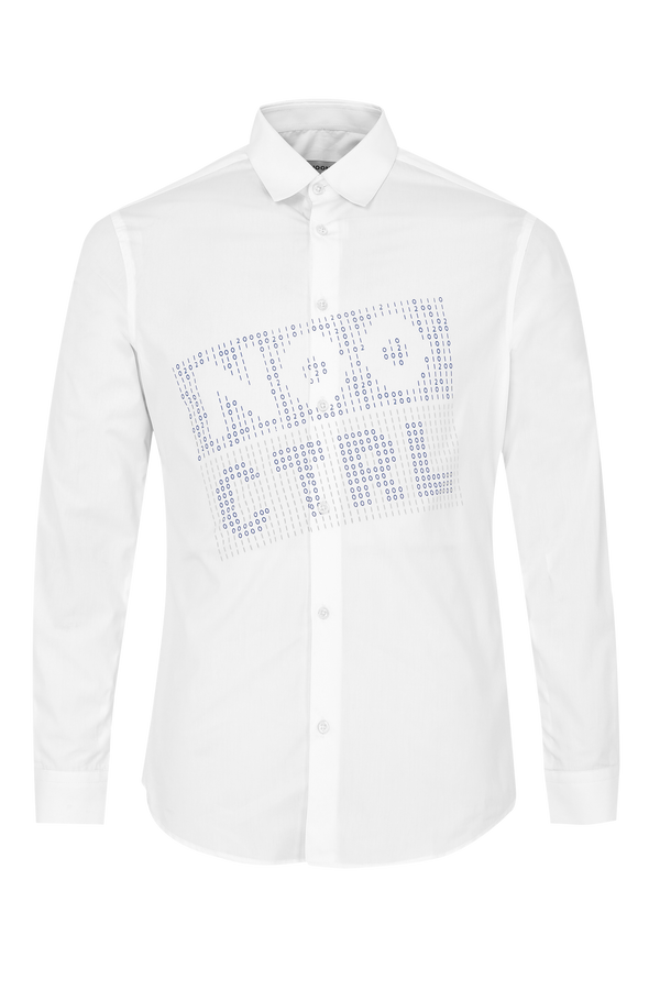 NOO CTRL Chest Print Shirt