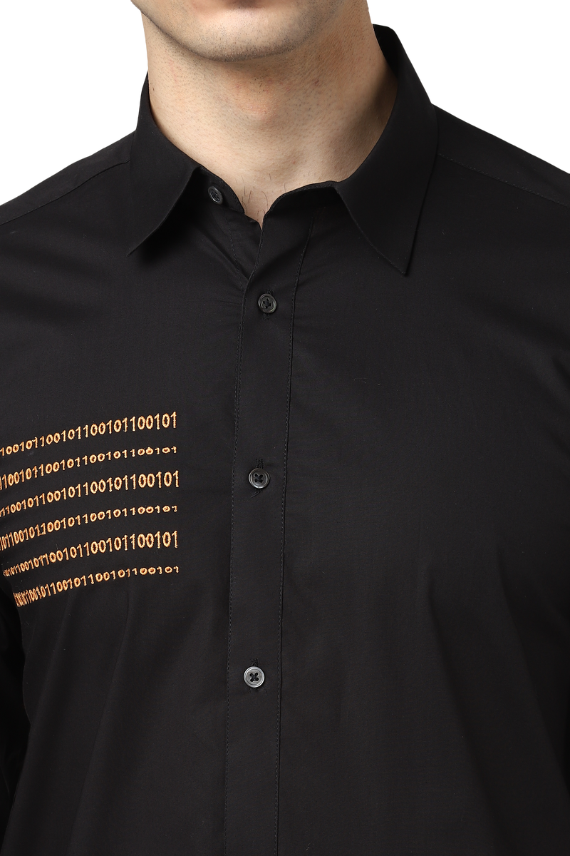 Binary Shirt With Utility Pocket & Elbow Patch