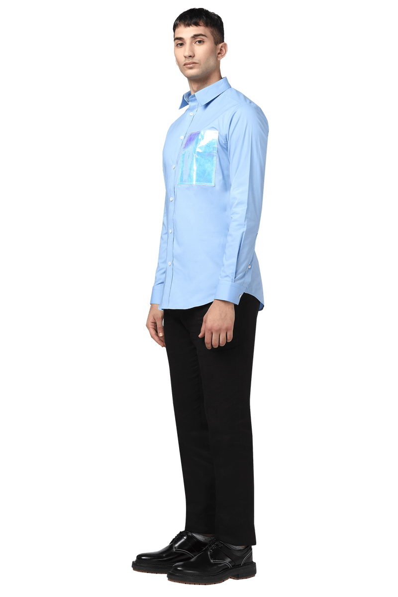 Code+ Shirt with holographic patch - NOONOO