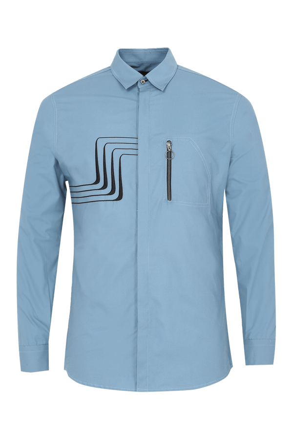 Resistor Shirt with Zip Pocket - NOONOO