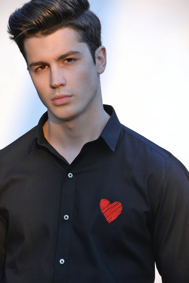 The Heart on Heart Shirt - NOONOO