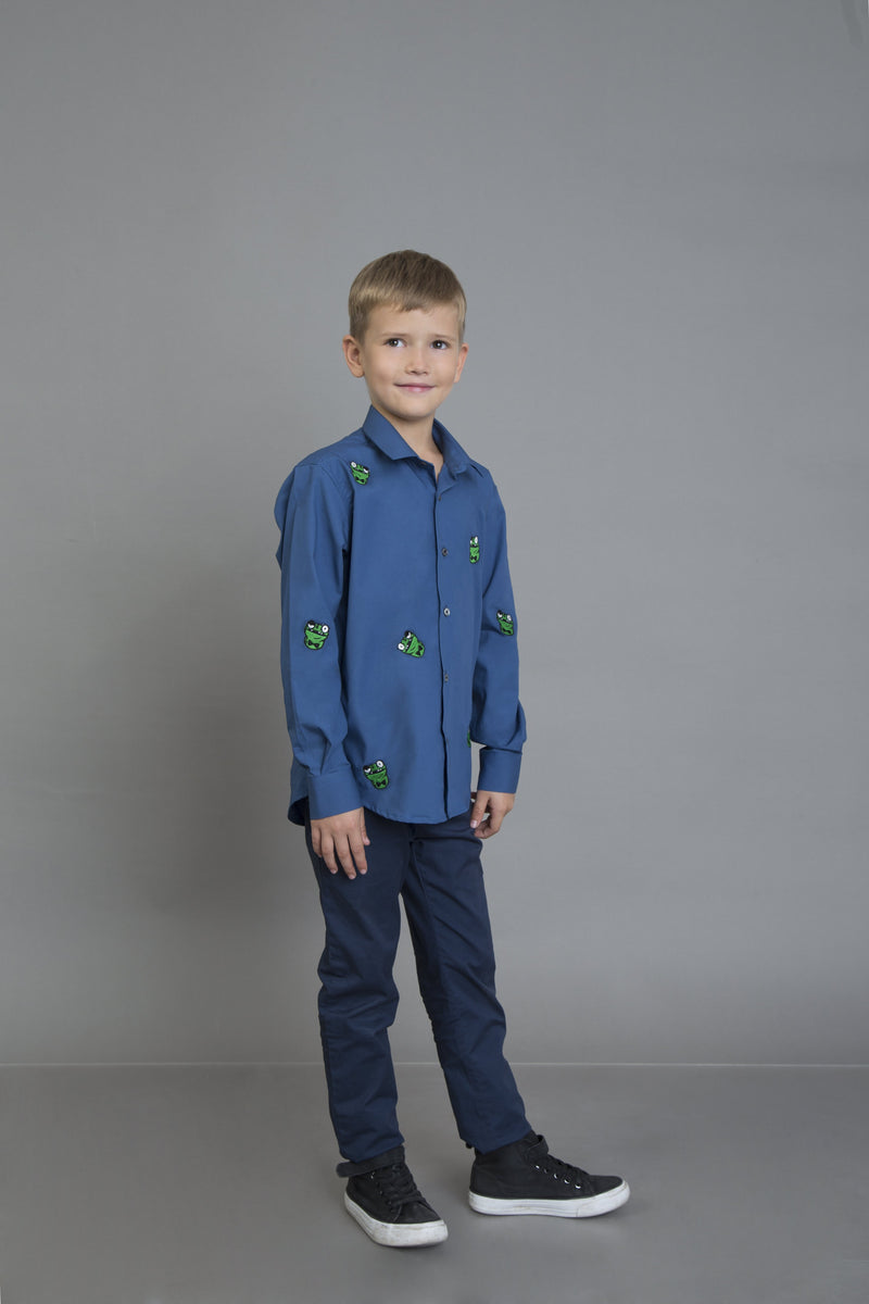 The Hip Hoppin' Jr. Frog Shirt - NOONOO