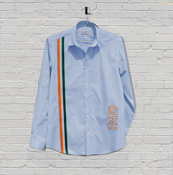 The India Cricket Stripes in Blue '07 - NOONOO