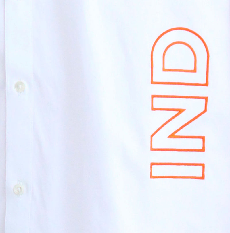 The India Cricket Stripes Shirt - NOONOO
