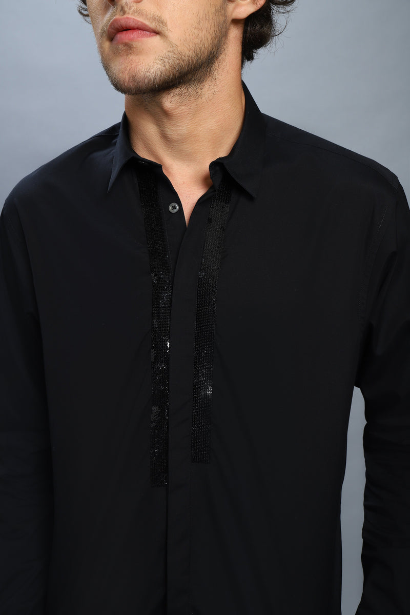 The Maverick's Tuxedo Shirt - NOONOO