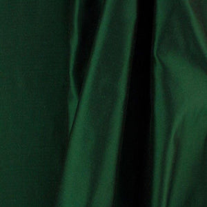 Solid Hunter Green Taffeta Fabric
