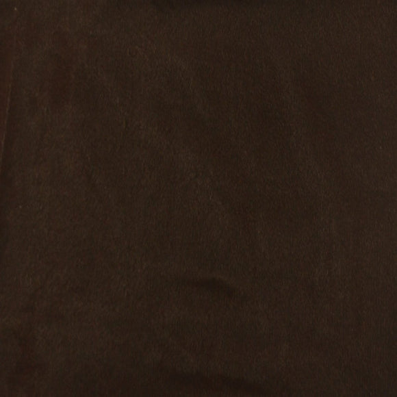 Brown Triple Velvet Clothing Drapery Fabric - Fashion Fabrics Los Angeles