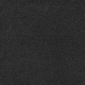 Solid Black Outdoor Canvas Fabric